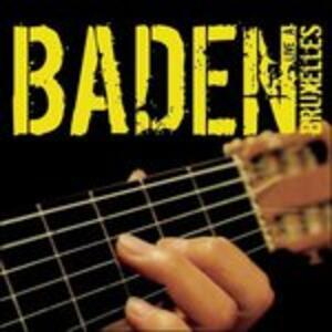 Baden Live Bruxelles - CD Audio di Baden Powell