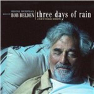 CD Three Days of Rain di Bob Belden