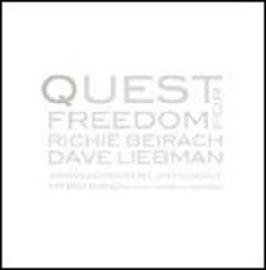 CD Quest for Freedom David Liebman , Richie Beirach