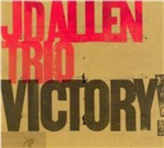 Foto Cover di Victory!, CD di J.D. Allen, prodotto da Sunnyside