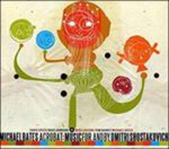 Foto Cover di Acrobat, CD di Michael Bates, prodotto da Naive