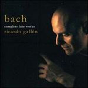 CD Musica per liuto di Johann Sebastian Bach