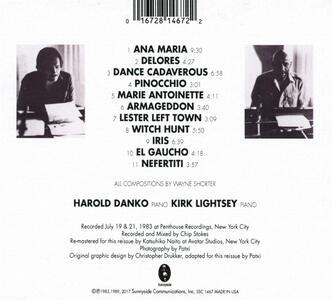 Shorter by Two - CD Audio di Harold Danko,Kirk Lightsey - 2