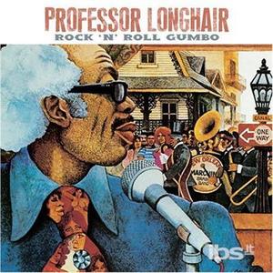 CD Rock 'N' Roll Gumbo di Professor Longhair