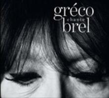 Greco Chante Brel - CD Audio di Juliette Gréco