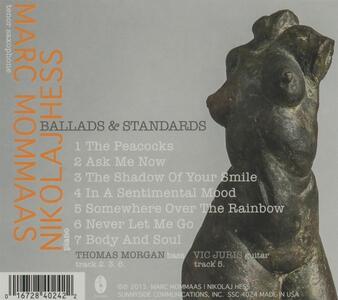 Ballads & Standards - CD Audio di Marc Mommaas,Nikolaj Hess - 2