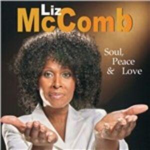 Foto Cover di Soul, Peace & Love, CD di Liz McComb, prodotto da Sunnyside