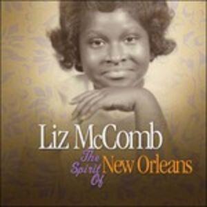 Foto Cover di Spirit of New Orleans, CD di Liz McComb, prodotto da Gve