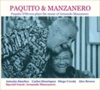 CD Paquito & Manzanero di Paquito D'Rivera