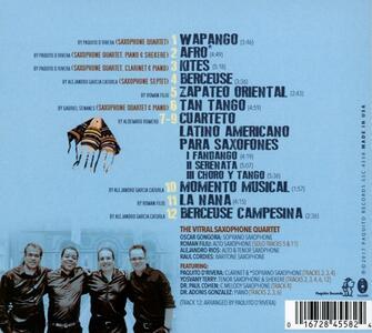 Kites Over Havana - CD Audio di Vitral Saxophone - 2