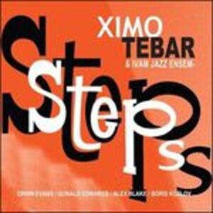 Foto Cover di Steps, CD di Ximo Tebar, prodotto da Sunnyside