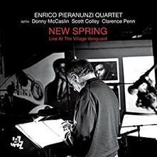 New Spring. Live at the Village Vanguard - CD Audio di Enrico Pieranunzi