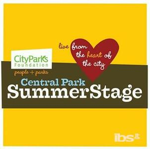 Central Park Summer Stage - CD Audio
