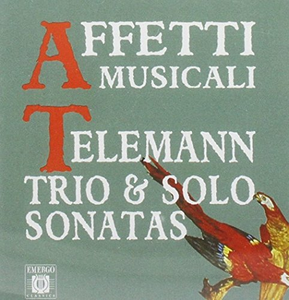 CD Trio & Solo Sonatas di Georg Philipp Telemann