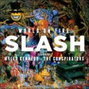 Foto Cover di World on Fire, CD di Slash, prodotto da Roadrunner