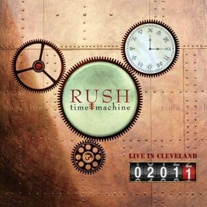 CD Time Machine 2011. Live in Cleveland di Rush