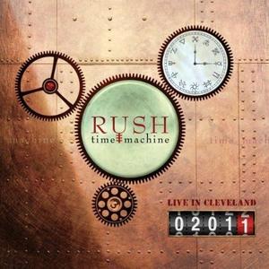 CD Time Machine 2011. Live in Cleveland di Rush