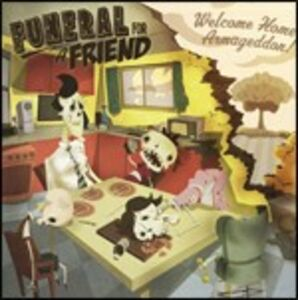 CD Welcome Home Armageddon di Funeral for a Friend
