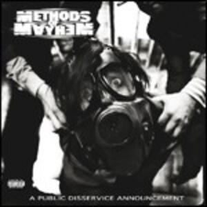 A Public Disservice Announcement - CD Audio di Methods of Mayhem