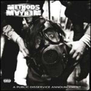 CD A Public Disservice Announcement di Methods of Mayhem