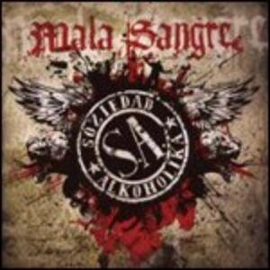 Foto Cover di Mala Sangre, CD di Soziedad Alkoholika, prodotto da Roadrunner