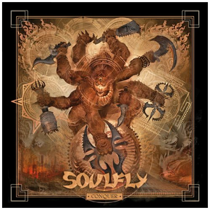 CD Conquer di Soulfly