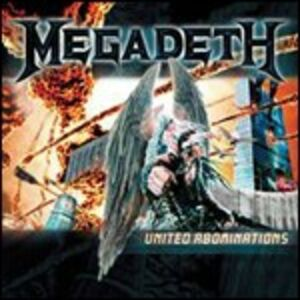 CD United Abominations di Megadeth