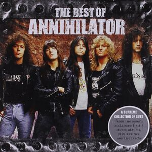 CD The Best of Annihilator di Annihilator