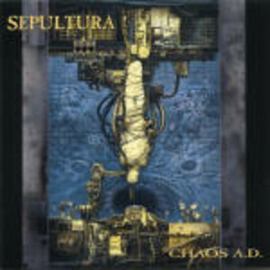 CD Chaos A.D. di Sepultura