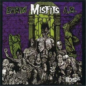 Foto Cover di Earth a.d., CD di Misfits, prodotto da Virgin