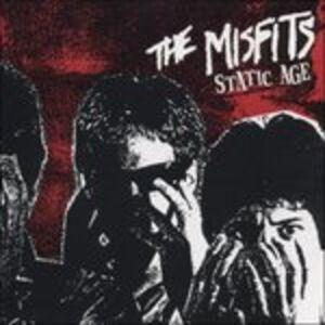 Foto Cover di Static Age, CD di Misfits, prodotto da Caroline