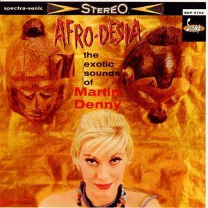 Foto Cover di Afro-Desia, CD di Martin Denny, prodotto da Scamp