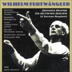 Un Requiem tedesco (Ein Deutsches Requiem) - CD Audio di Johannes Brahms
