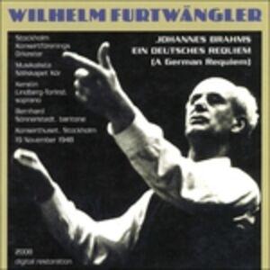 CD Un Requiem tedesco (Ein Deutsches Requiem) di Johannes Brahms 0