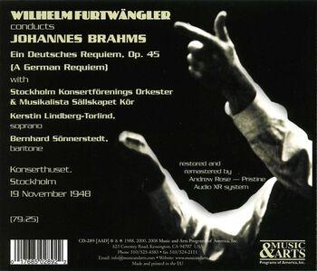 CD Un Requiem tedesco (Ein Deutsches Requiem) di Johannes Brahms 1