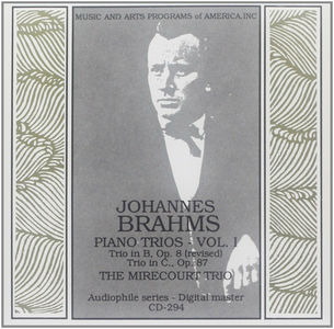 CD Trios for Piano, Violin di Johannes Brahms