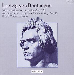CD Fantasia - Sonata Nos. 11 di Ludwig van Beethoven