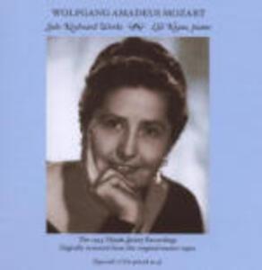 Musica per pianoforte solo - CD Audio di Wolfgang Amadeus Mozart,Lili Kraus