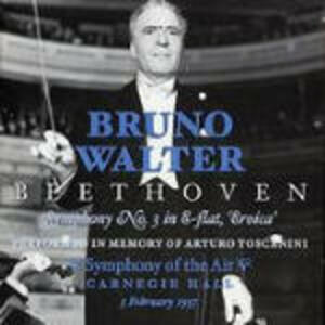 Sinfonia n.3 - CD Audio di Ludwig van Beethoven,Bruno Walter