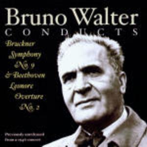 CD Ouverture Leonore II / Sinfonia n.9 Ludwig van Beethoven , Anton Bruckner