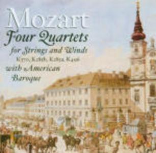 CD Quartetti per archi e fiati di Wolfgang Amadeus Mozart