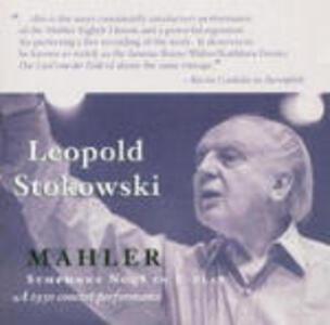 Sinfonia n.8 - CD Audio di Gustav Mahler,Leopold Stokowski