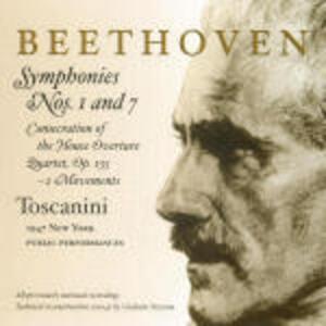 Sinfonie n.1, n.7 - CD Audio di Ludwig van Beethoven,Arturo Toscanini