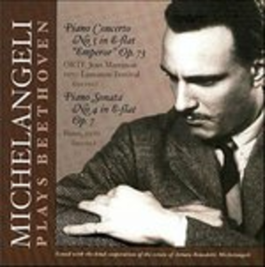 CD Sonata per pianoforte n.4 - Concerto per pianoforte n.5 di Ludwig van Beethoven