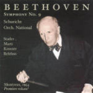 Foto Cover di Sinfonia n.9, CD di Ludwig van Beethoven,Carl Schuricht, prodotto da Music and Arts