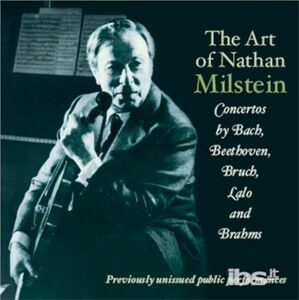 CD L'arte di Nathan Milstein