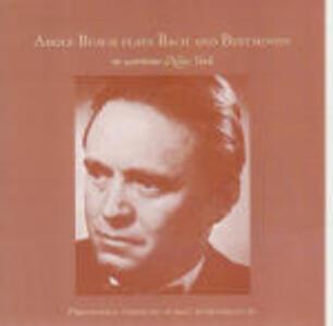 Concerto per violino BWV1041 / Concerto per violino - Romanze op.40, op.50 - CD Audio di Johann Sebastian Bach,Ludwig van Beethoven,Adolf Busch