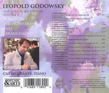 Godowsky Edition vol.5 - CD Audio di Leopold Godowsky - 2