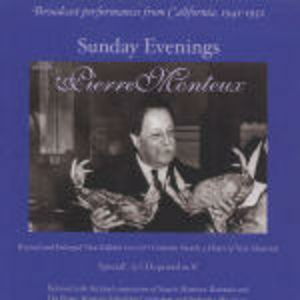 CD Sunday Evenings with Pierre Monteux