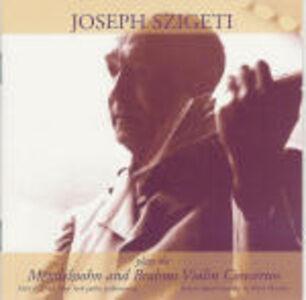 CD Concerti per violino Johannes Brahms , Felix Mendelssohn-Bartholdy